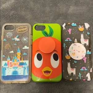 Set of 3 iPhone Cases (iPhone 6/7/8)